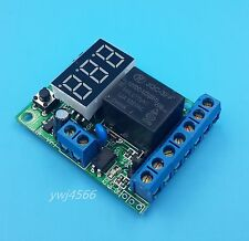 12V Voltage detection control delay/Upper and lower voltage range control switch