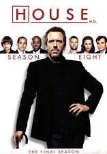 House: Season Eight (DVD, 2015, 5-Disc Set)