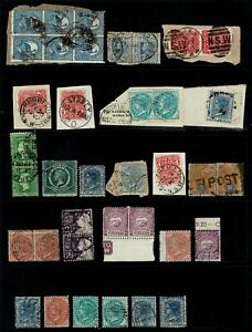 Australian State Stamp group Lot 500-012