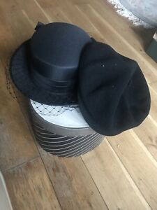 Two Kangol Ladies / Women Hats/cap Plus  Box