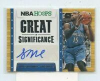 SHABAZZ MUHAMMAD 2014-15 Panini NBA Hoops Great Significance Auto Autograph