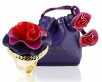 NEW LOLA Marc Jacobs Lola 0.75g solid perfume ring with drawstring pouch femme