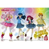 Hugtto! Precure Full Completed 4pcs of Cutie Figure 2 Special Set Bandai Japan