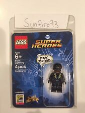 2018 SDCC Exclusive Lego DC Super Heroes Black Lightning Minifigure