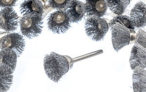 """24pc 3/4"""" Stainless Steel Wire Cup Brushes Polishing Grinding Dremel Rotary Tool"""
