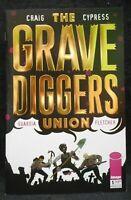 The Grave Diggers Union #1 Image Comics Gold Foil Variant  (C448)