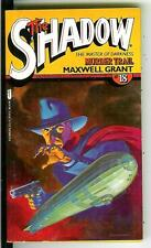 MURDER TRAIL by Maxwell Grant, rare US Jove Shadow pulpc rime vintage pb Zepplin