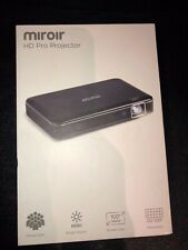 Miroir HD Pro Projector New In Box Portable USB HDMI 1080p