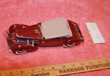 Franklin Mint & Precision Models 1937 Cord 812 Phaeton Coupe Car Issues