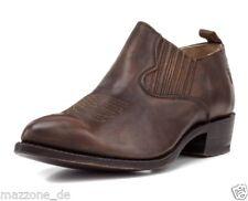 ☆ FRYE Boots Slipper BILLY Leder Natur gewachst cognac braun Gr.40 OVP 219€☆