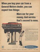 1965 Guardian Maintenance Service General Motors Vintage Print Advertisement