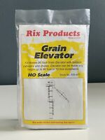 Rix Products HO Scale 628-407 Grain Elevator Kit US Seller NEW Sealed