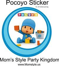 "Pocoyo 2.5"" round stickers"