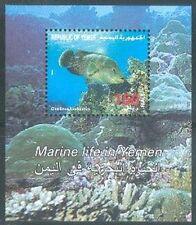Yemen Republic 1996 ** Bl.21 Fische Fish Poissons Marine Life