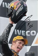 Scott Redding Hand Signed Marc VDS Racing 12x8 Photo Moto2 MotoGP 3.