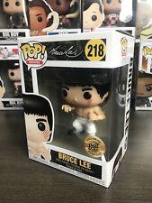 Official Funko Pop! Bruce Lee White Pants Bait 2018 SDCC Exclusive Comic Con