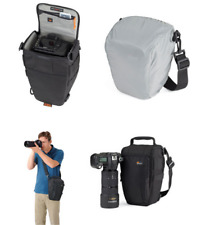 Lowepro Toploader Zoom 55 AW DSLR Camera Photo Shoulder Bag With Weather Cover