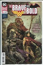 THE BRAVE AND THE BOLD: BATMAN AND WONDER WOMAN #1 - LIAM SHARP ART & COVER 2018