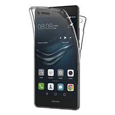 Cover Custodia Protezione Totale TPU Silicone 360 Fronte Retro Huawei P8 P9 Lite