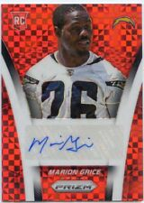 2014 PANINI PRIZM ROOKIE RC AUTO MARION GRICE #50/60 RED CHARGERS