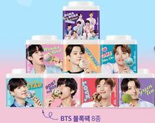 BTS Baskin Robbins Official block 8 pack empty in folding Spoon no icecream