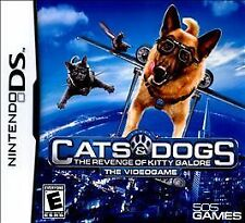NEW Cats & Dogs The Revenge of Kitty Galore Nintendo DS Cats And Dogs 2