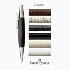 Faber-Castell E-MOTION Ballpoint Pens in 6 EXCELLENT FINISHES with Gift Box