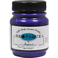 VIOLET Jacquard NEOPAQUE Acrylic Fabric Paint 2.25 oz stencilling ink paint