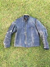 "Vintage 1950's Harley ""Sportster� Steerhide Leather Jacket"