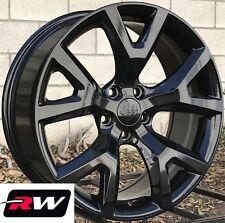 "18"" inch RW Wheels for Jeep Compass 2018-2019 Gloss Black 18x7.5"" Rims Trailhawk"