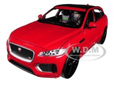 JAGUAR F-PACE RED 1/24-1/27 DIECAST MODEL CAR BY WELLY 24070
