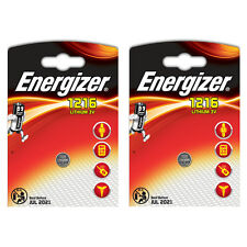 2 x Energizer 1216 3V Lithium Battery Coin Cell CR1216 DL1216 BR1216