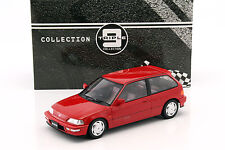 Honda Civic EF-9 SiR Baujahr 1990 rot 1:18 Triple 9