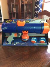 16inch Medium Compact Tennis Ball Blaster, Dog Toy by Nerf Launches Up To 50 FT!