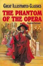 Great Illustrated Classics The Phantom of the Opera Hardcover Brand NEW