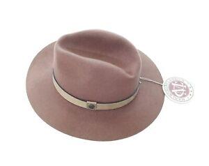 MCS MARLBORO CLASSICS Vintage Cowboy Hat, Merino Wool Felt, Brown, S