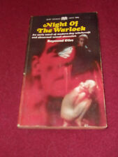 Night of the Warlock by Raymond Giles (1968, pb) horror Paperback Library