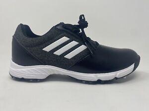 Adidas G26625 W Tech Response Women's Golf Shoes, Black/White, US 7 M