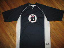DETROIT TIGERS JERSEY SHIRT Embroidered Old English D Logo Patch Baseball Medium