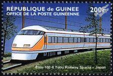 TOBU Railway (Japan) 100 Series SPACIA EMU (Electric Multiple Unit) Train Stamp