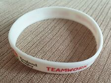 England Rugby Silicone Wristband. Good condition. Quick despatch.