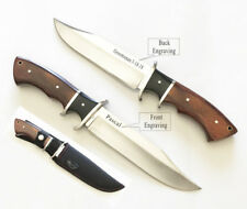 Christmas, Birthday Gift- Personalized Engraved Hunting Knife Rosewood handle-63