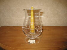 *NEW* Bougeoir Photophore H.20cm D.10,5cm + bougie Candlestick tealight + candle