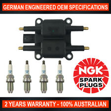 4x Genuine NGK Platinum Spark Plugs & 1x Ignition Coil Pack for Mini Cooper R52