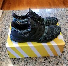 9737b85da adidas Ultra Boost UltraBOOST Black True Green Size 12 Shoes Sneakers  EE3733 NEW