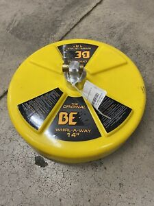 """BE Whirl-A-Way 14"""" Pressure Washer Surface Cleaner 4000 PSI"""