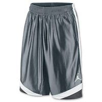 Nike Jordan Men's Basketball Shorts Court Vision 576638-065 Cool Grey Dark Grey