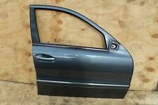 MERCEDES E CLASS W211 FRONT DRIVER RIGHT DOOR, IN LIGHT BLUE 2005 AVANGARD