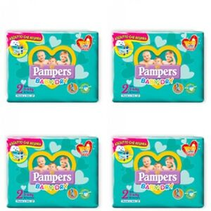 Pampers Baby Dry Misura 2 (3-6 Kg) 96 Pannolini