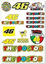 Valentino Rossi Motorsport Tuning Decals Sticker 1 Set-21 Piece  Full color HD